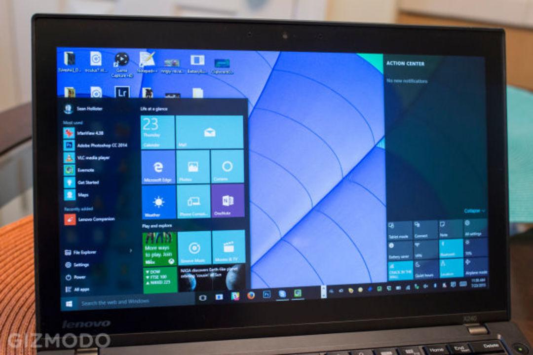 Windows 10使った2日目の感想 - 欠点編