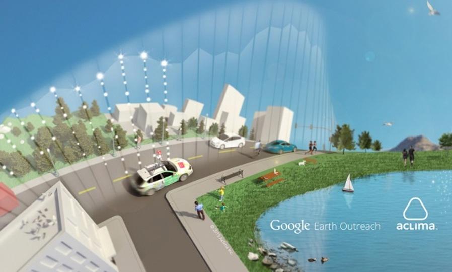 グーグルのストリートビューカー、空気汚染度の調査をはじめました