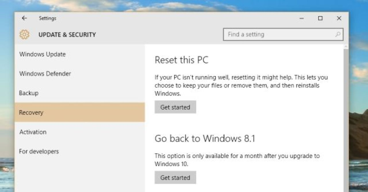 Windows 10へのアプデはリスクもあるよ
