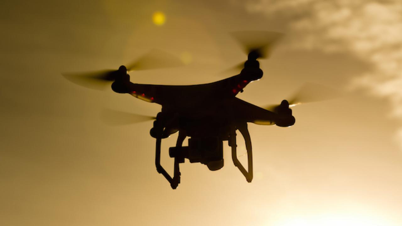 ドローンで空からGEの工場見学。 #DRONEWEEK がはじまるよ
