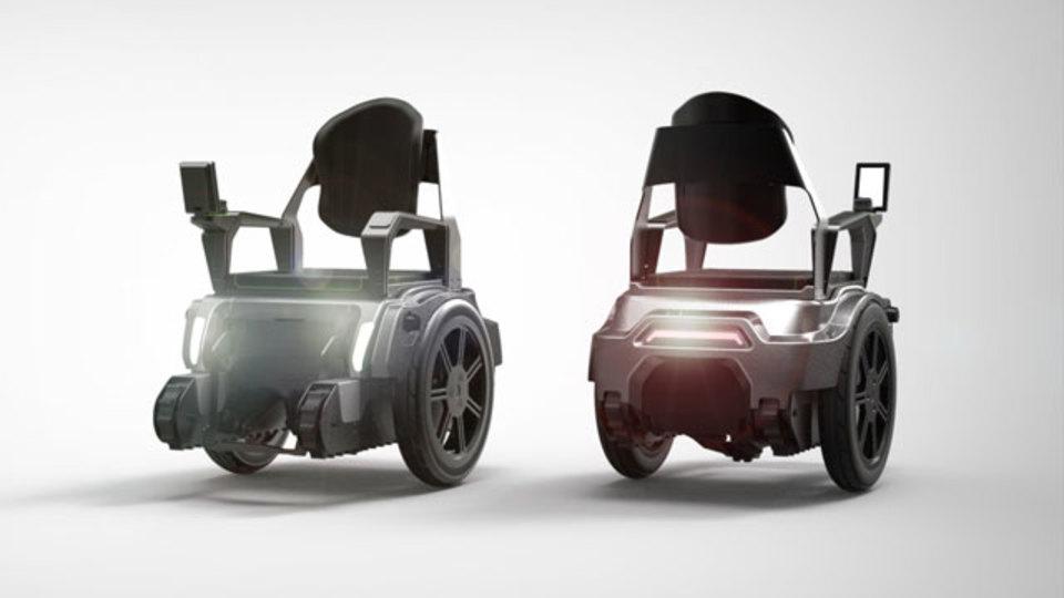 学生開発の「Scalevo」。車椅子を本気で進化させたらこうなった