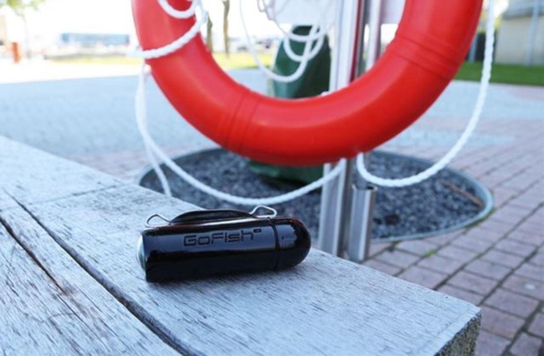 フィッシュ!の瞬間を捉えられる150m防水アクションカム「GoFish Cam」