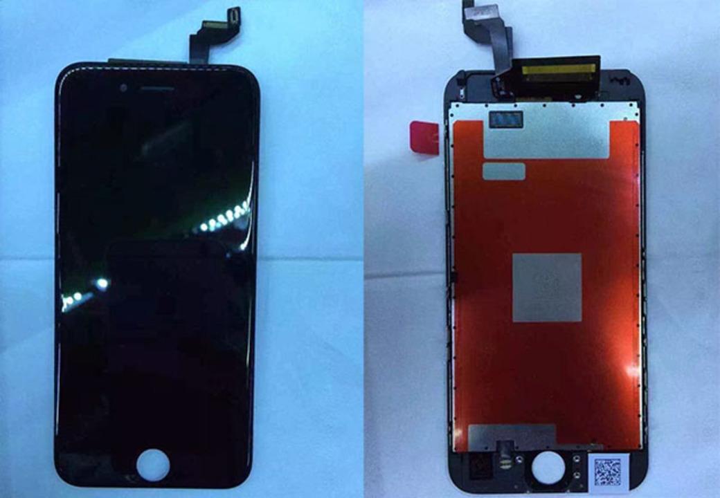 iPhone 6sの部品流出。ちょっと厚めでカメラは出っ張る?