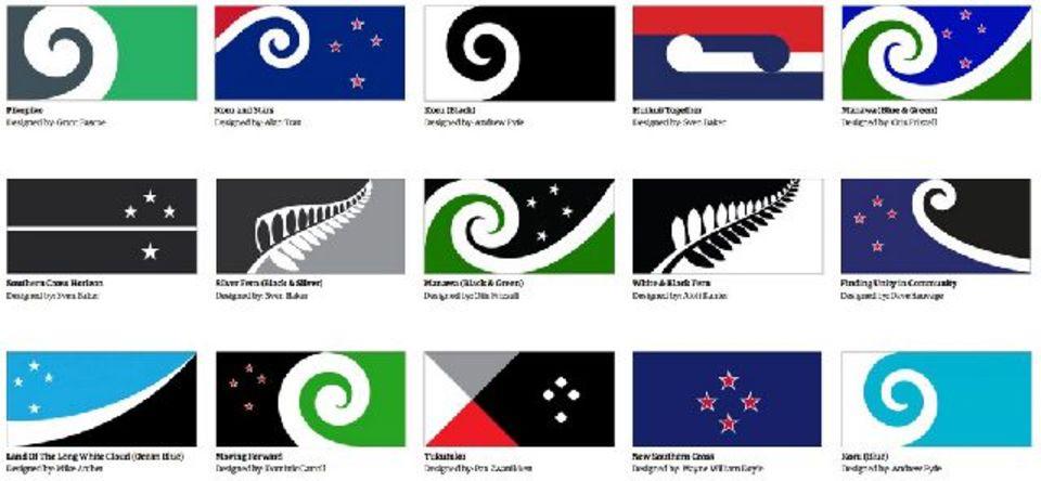 ニュージーランド、国旗のリニューアルを準備中