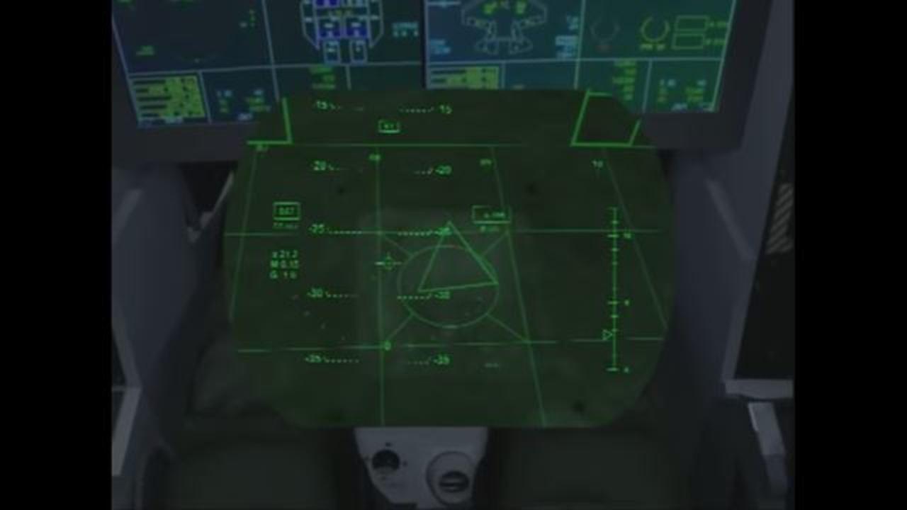 機体を透かして周囲を見通せるF-35専用ヘルメット。お値段約5,000万円