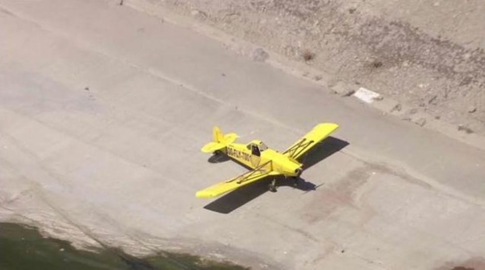 小型飛行機に緊急事態…! そんな時、川が役に立つ?