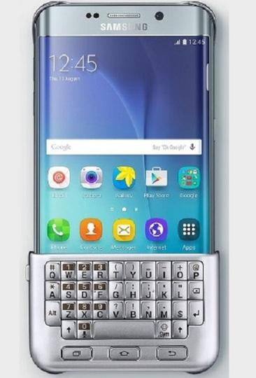 GALAXYスマホに純正のBlackBerry風キーボードが登場か