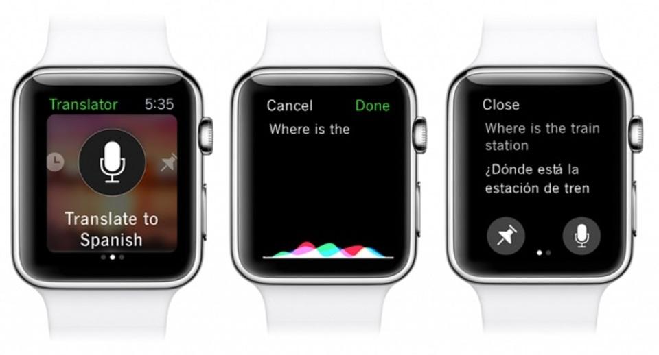 Apple Watch対応の音声翻訳アプリ「Microsoft Translator」が面白い