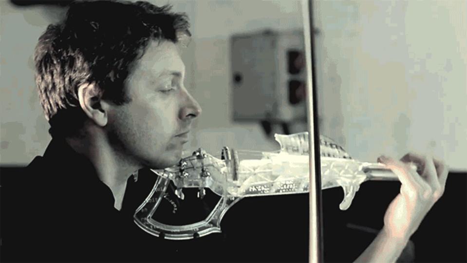 みんな、3Dプリンターで作ったストラディバリウスの音色を聴いてくれ
