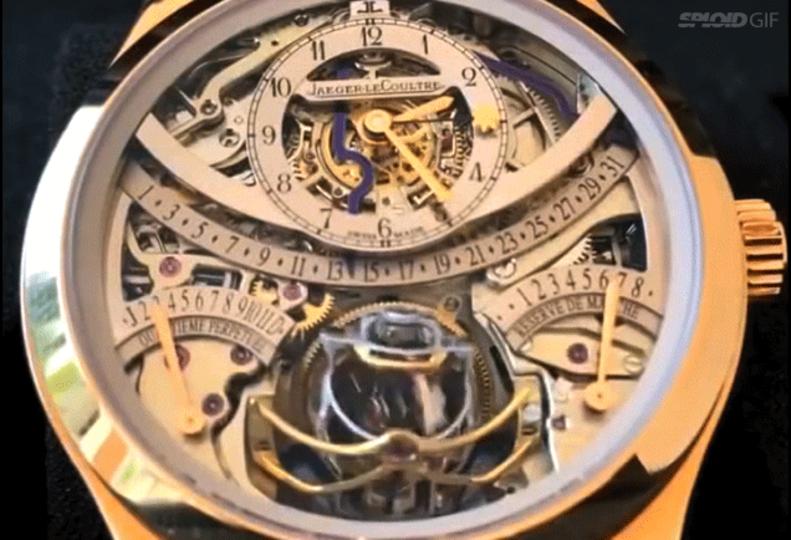 どうやって動いてるの? 複雑すぎる時計の動きに唖然とする動画