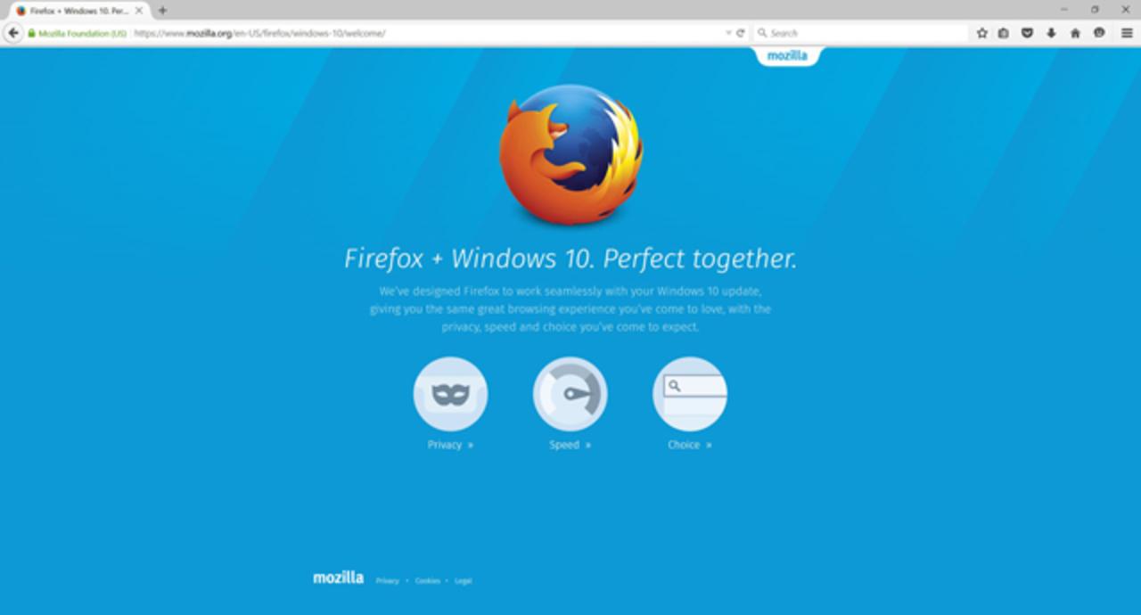 「Firefox」40.0リリース。Windows10対応でセキュリティも強化