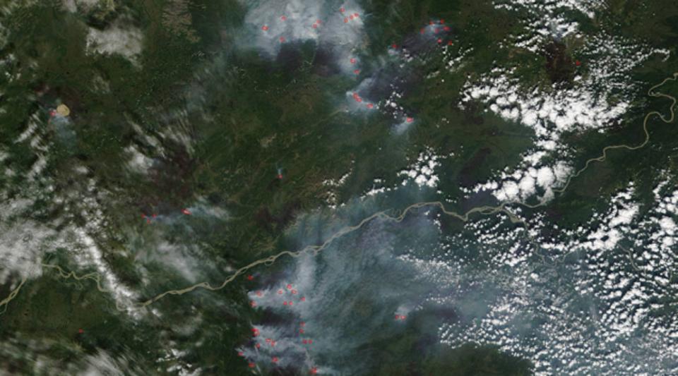 とうとう琵琶湖30個分の広さに...土地を焼き尽すアラスカの山火事