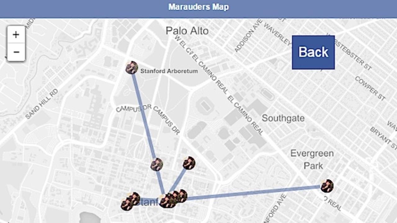 フェイスブックの位置情報追跡の薄気味悪さを実証したハーバード大生がインターン内定取消しに