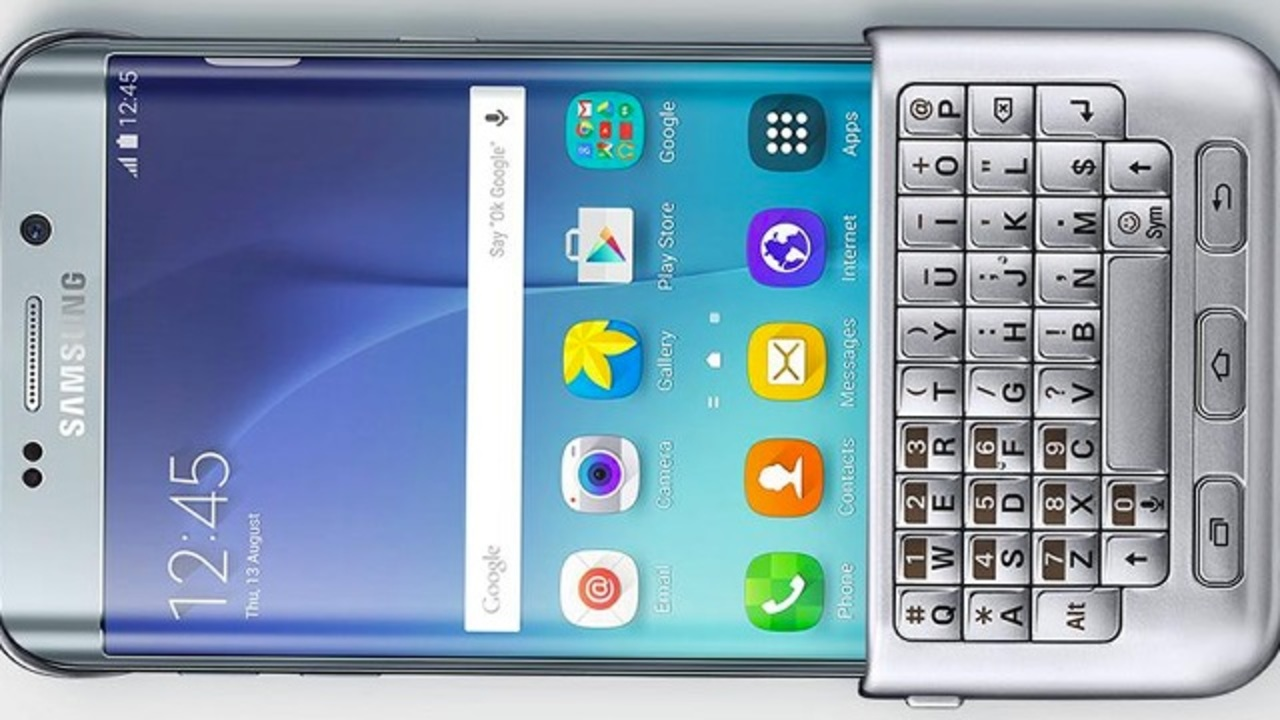 バッテリー不要…画期的なキーボードケースが新GALAXYスマホ向けに登場