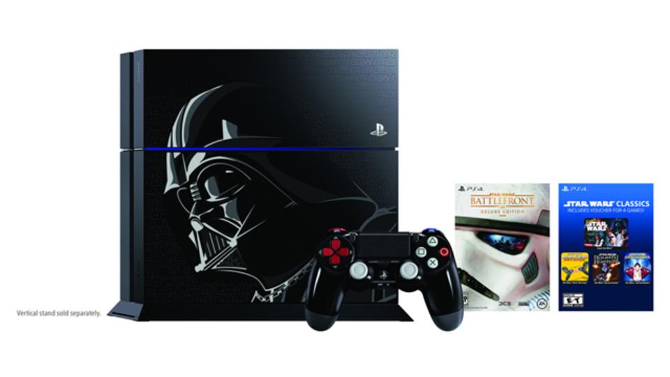 ソニー、PlayStation 4のダース・ベイダーエディションを11月に発売