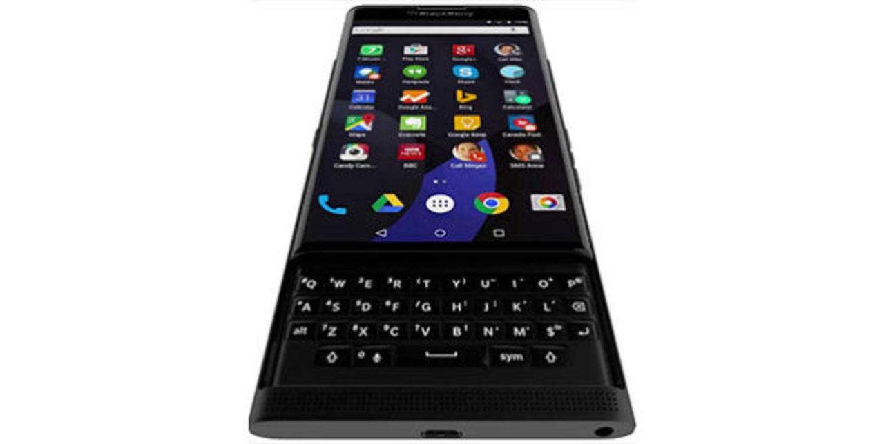 BlackBerry初のAndroidスマホ? 鮮明なリーク画像が登場