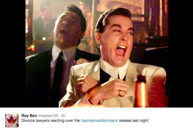 不倫サイトのユーザー情報リークで、ツイッターが離婚弁護士ネタ祭