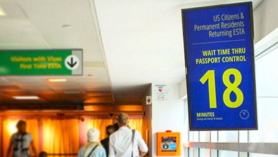 空港での待ち時間をスマホで正確予測。JFK空港が新システム導入