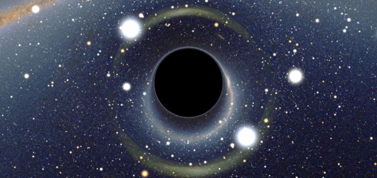 ブラックホールに飲み込まれると、別の宇宙にたどり着く?