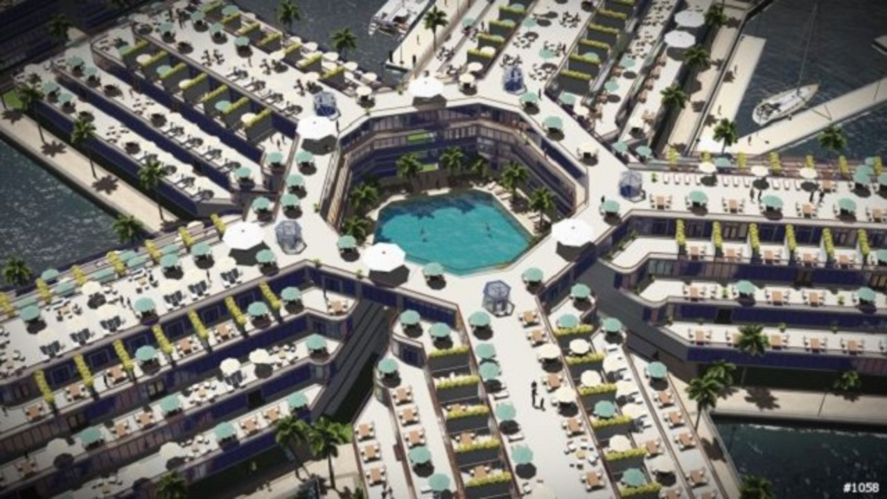 海上自治国家Seasteadingは、こんなデザインになるかも