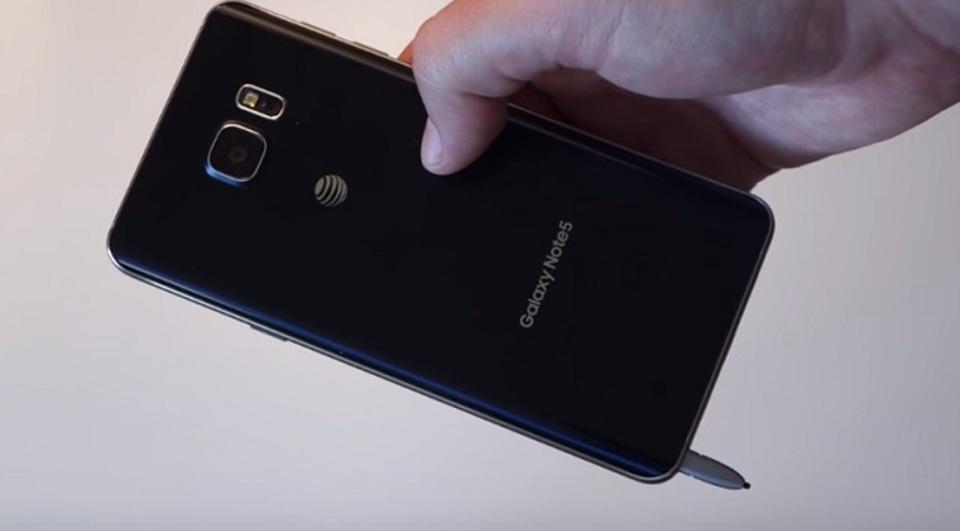 Galaxy Note 5のスタイラス、逆さに入れちゃダメよ