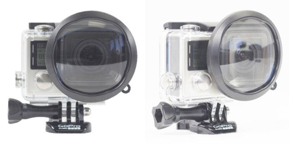 GoProでボケ味生かした撮影を可能にするマクロアダプタ
