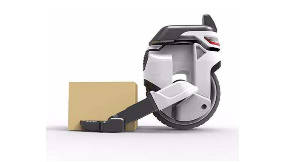積み荷によってフォーメーションを変更できる、一輪車ドローン