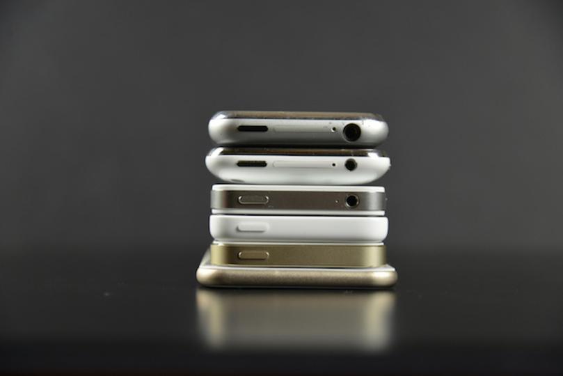 初代から8年。iPhoneはこんなに変わってきた