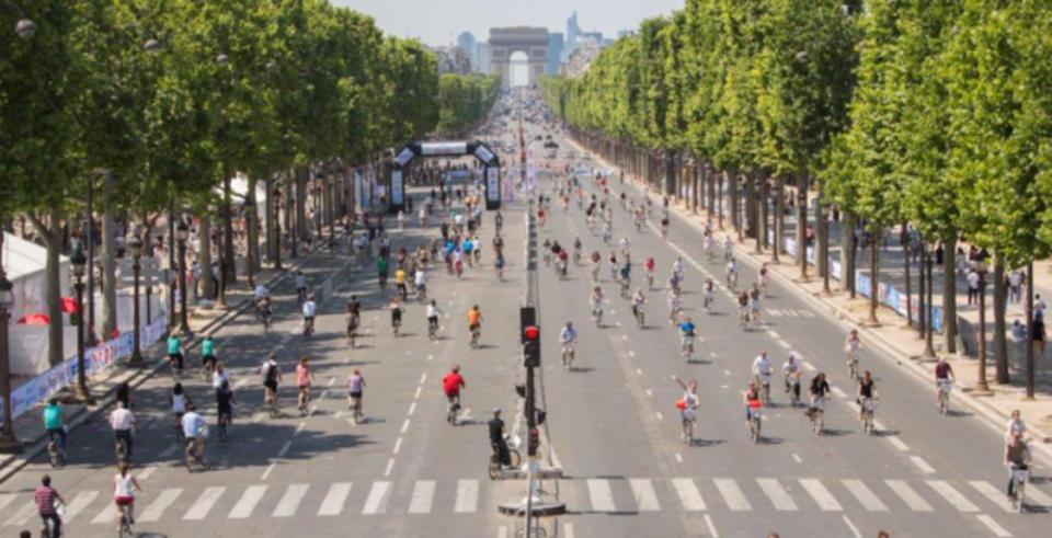 9月27日のパリは「車なしの日」