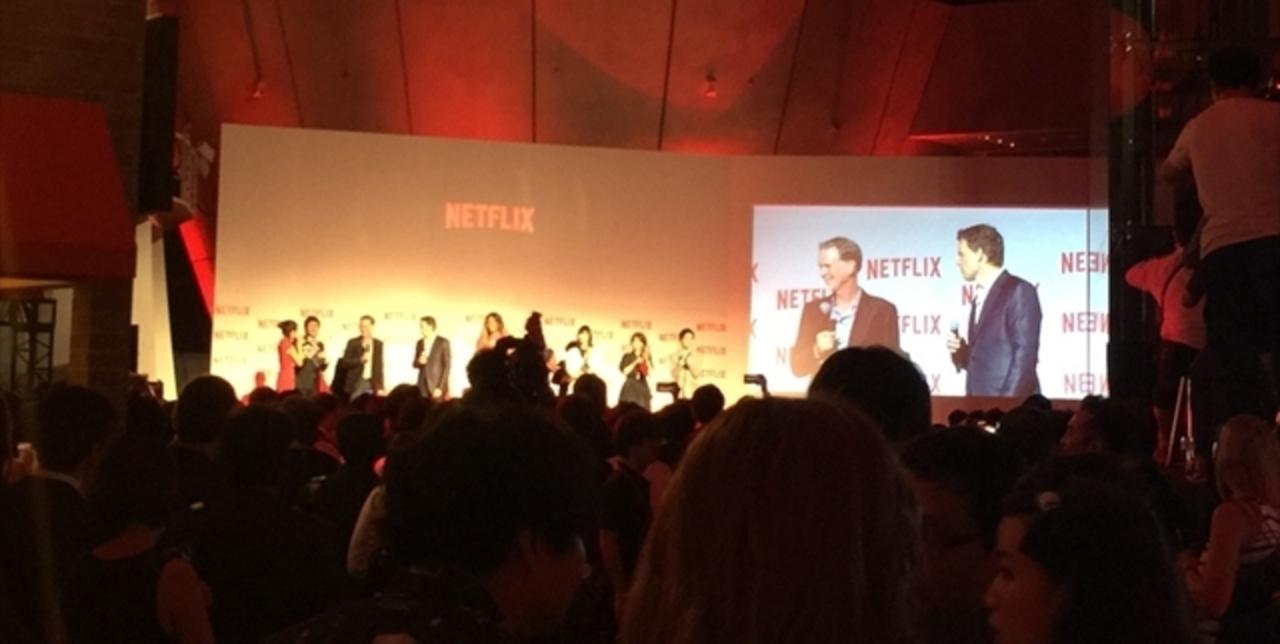 Netflix、もう始まってる!