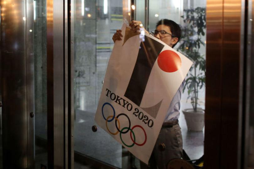 東京五輪エンブレム使用中止、海外でも注目を集めるツイッターに投稿されたデザイン