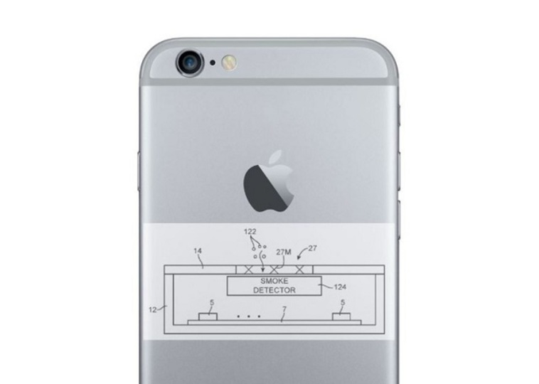 iPhoneが火災感知器にもなる特許をアップルが取得