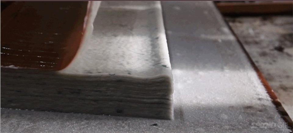 和紙を作る工程が息をのむほど美しい