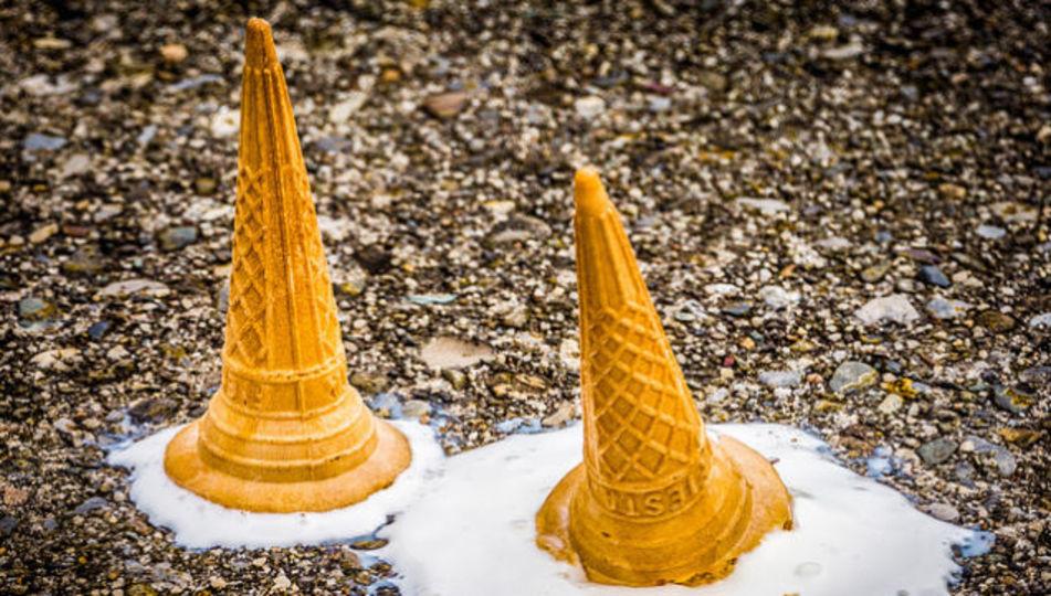 ハッピー! 溶けにくいアイスクリームついに開発