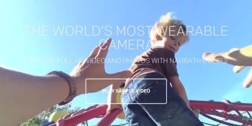 ウェアラブル・ライフログカメラNarrative Clip 2に動画撮影機能発表