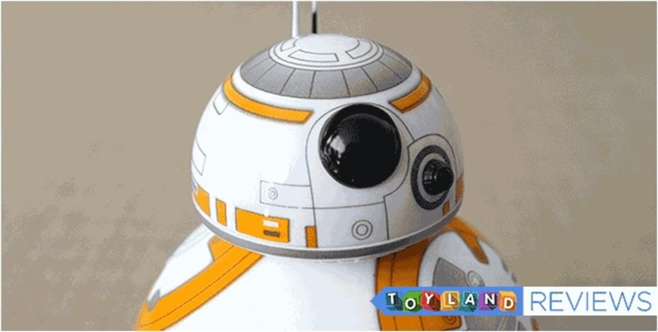 「スター・ウォーズ/フォースの覚醒」の新ドロイド「BB-8」トイ、さっそくレビュー