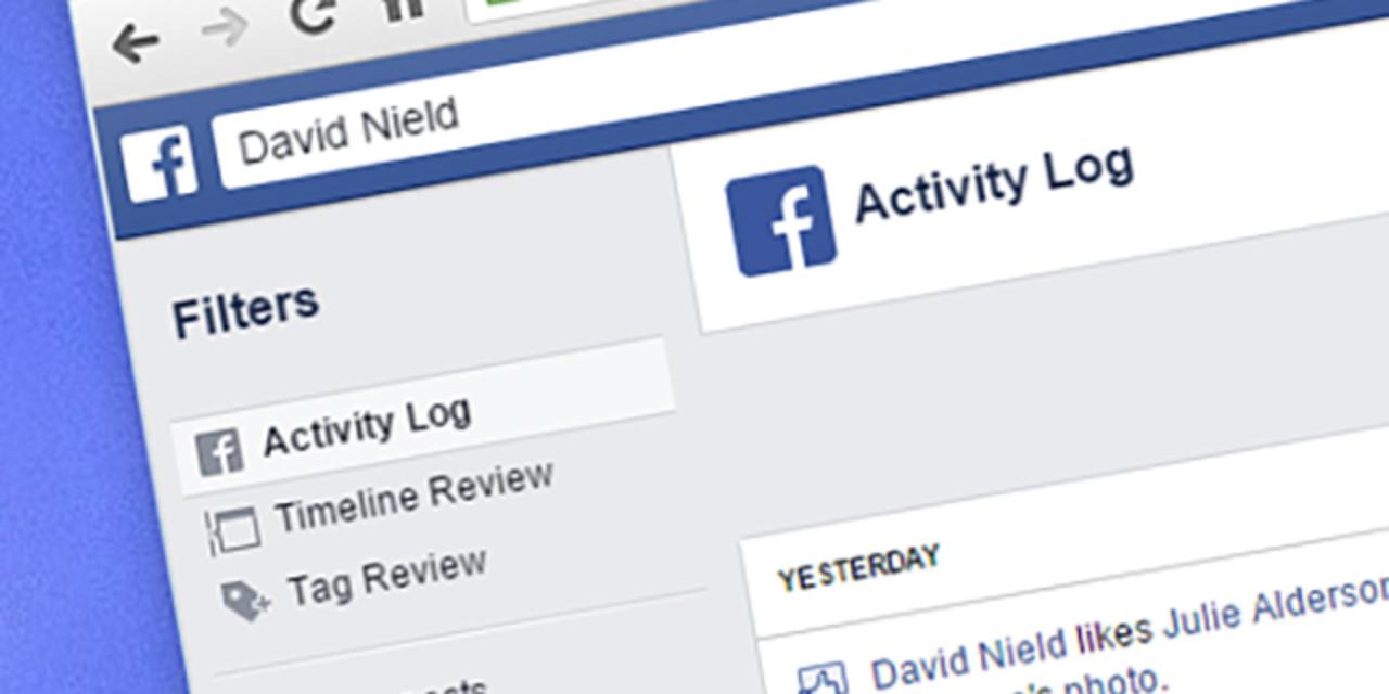 Facebookでの過ちはすべて「アクティビティログ」から取り消せます