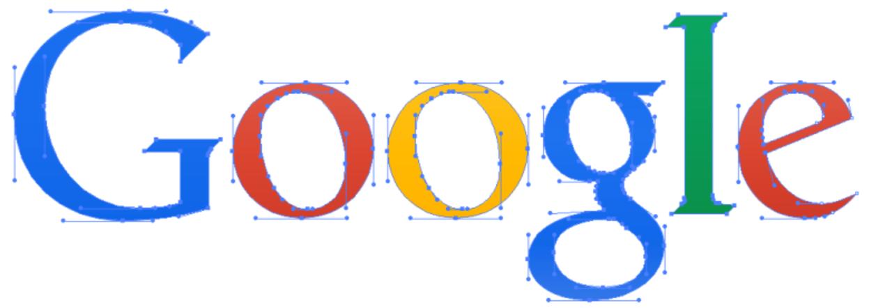グーグルの旧ロゴは14,000バイトもあったのに、新ロゴはたった305バイトなのはどうして?