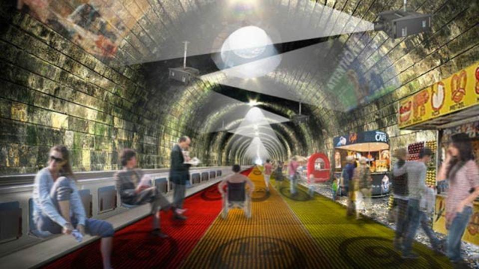 地下鉄やめて「高速で動く歩道」作れば?っていうロンドンの案