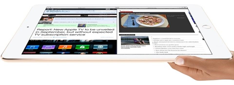 12インチ級「iPad Pro」はアプリ同時表示、LTE対応、別売スタイラスで今週発表か