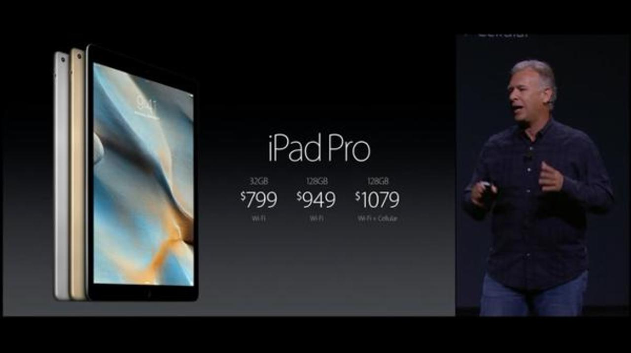 「iPad Pro」発表:32GB~で11月発売、価格は約9万7000円から