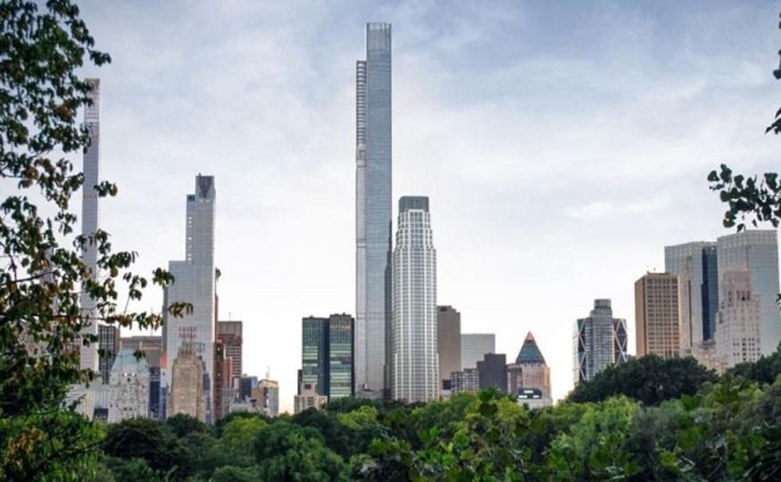マンハッタンに建設予定のノードストロームタワーは「世界一高い屋根のビル」となりそう