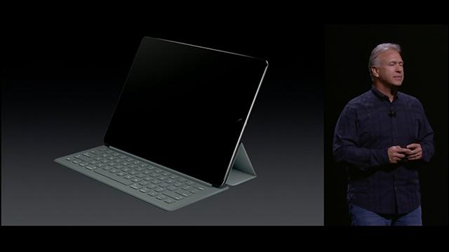 「iPad Pro」発表:新アクセサリ「Smart Keyboard」と「Apple Pencil」登場
