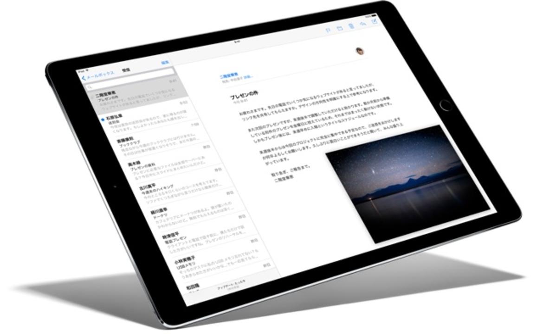 大盛り。iPad Proのメモリは4GBだって!