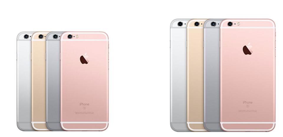 iPhone 6s / 6s Plus発表:iPhone 6/6 PlusとiPhone 6s/6s Plusの大きさ重さ比較