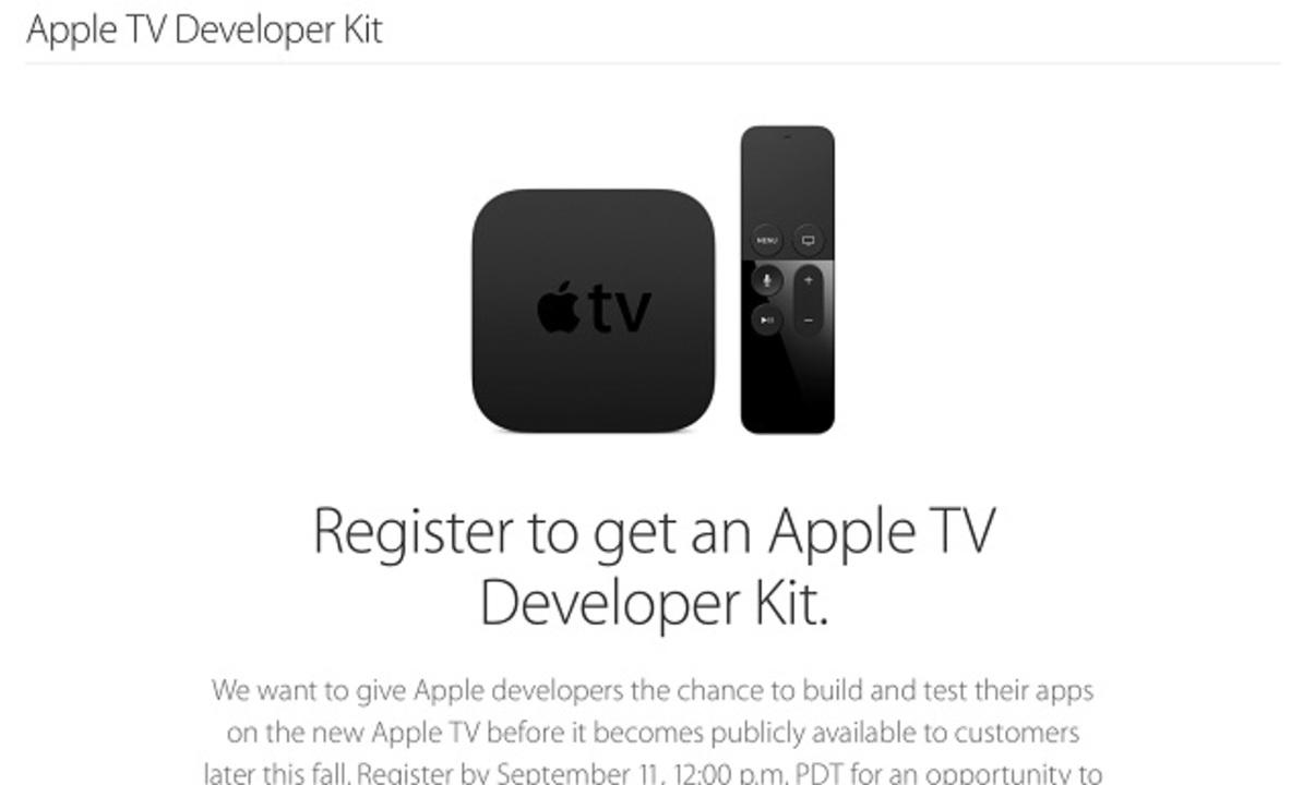開発者は新型Apple TVをちょっと早く試せます