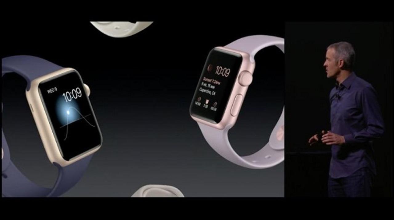Apple Watch Sportにゴールドとローズゴールドの新色登場!