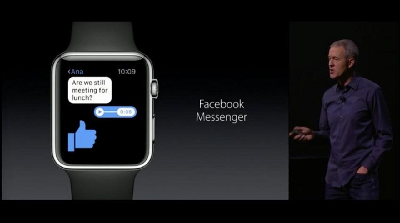 Apple WatchにFBメッセンジャーとGoProアプリがやってきた