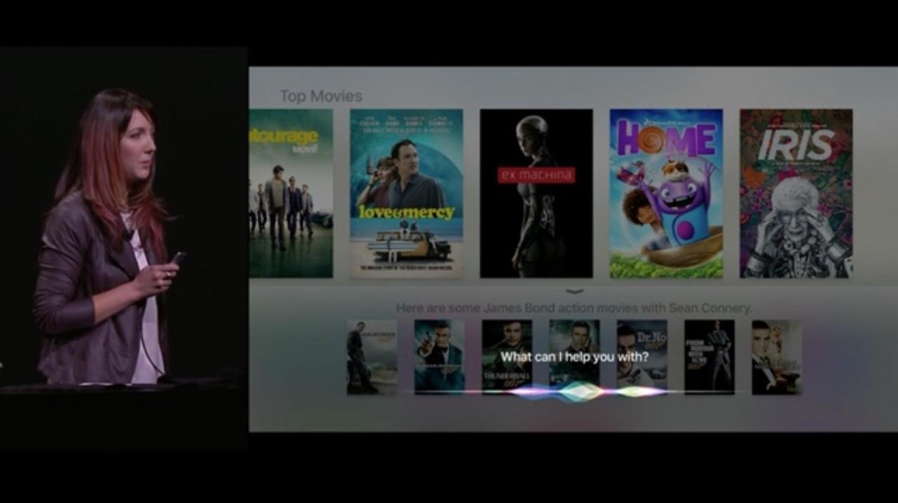 新Apple TV発表:「ねぇSiri、映画が見たいな」Apple TVがSiriに対応