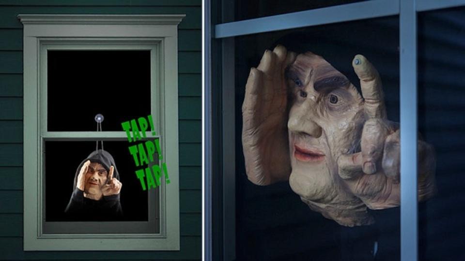 下手したら気を失う自信ある。窓に掛けて、隣人を驚かす恐怖のおもちゃ